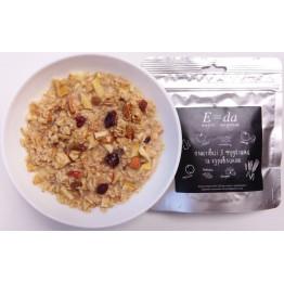 Сушеные продукты E-da Каша пшеничная с фруктами и клюквой