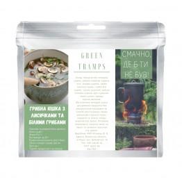Сушені продукти Green Tramps Грибна юшка з лисичками та білими грибами