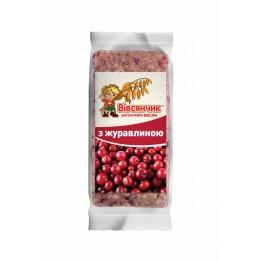 Сушеные продукты Харчі Батончик овсяный с клюквой