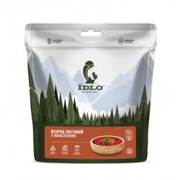 Сушені продукти ЇDLO Борщ пісний з квасолею
