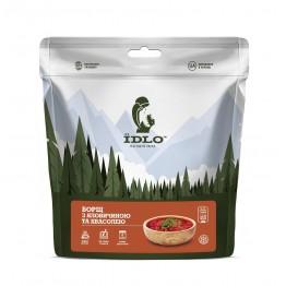 Сушені продукти ЇDLO Борщ з яловичиною та квасолею
