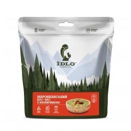 Сушеные продукты ЇDLO Кус-кус марокканский с говядиной