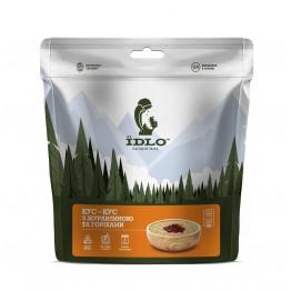 Сушені продукти ЇDLO Кус-кус з журавлиною та горіхами