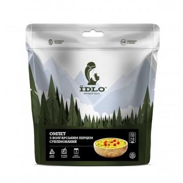 Сублимированные продукты ЇDLO Омлет с болгарским перцем сублимированный