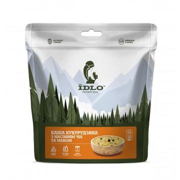 Сушені продукти ЇDLO Каша кукурудзяна з насінням чіа та маком