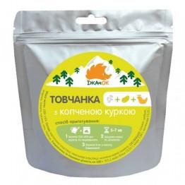 Сушені продукти Їжачок Товчанка з копченою куркою