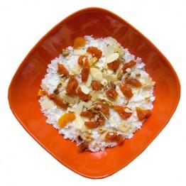 Сушені продукти Їжачок Каша рисова з курагою та горіхами