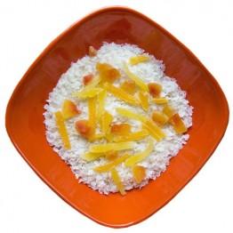 Сушені продукти Їжачок Каша рисова з манго та папаєю