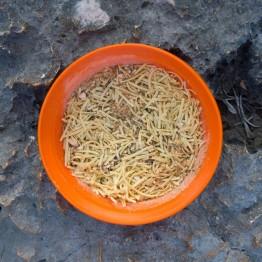 Сушені продукти Їжачок Локшина з сиром та грибами