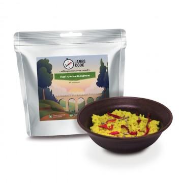 Сушеные продукты James Cook Карри с рисом и курицей
