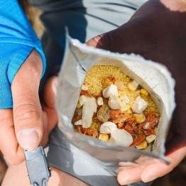 Сушеные продукты James Cook Кус-кус с сублимированной курятиной и овощами