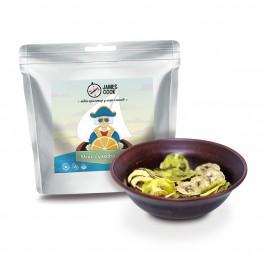 Сушені продукти James Cook Мікс фруктових чіпсів