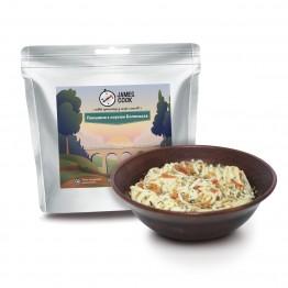 Сушеные продукты James Cook Лапша с соусом Болоньезе