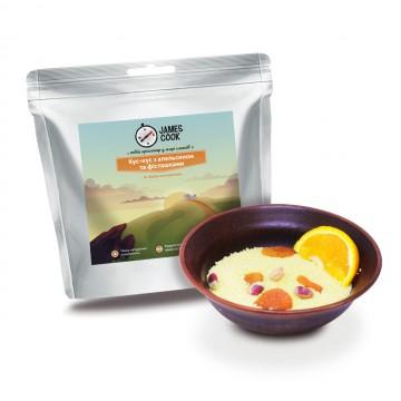 Сушеные продукты James Cook Кус-кус с апельсином и фисташками