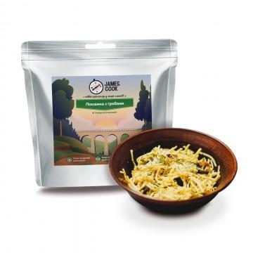 Сушеные продукты James Cook Лапша с грибами