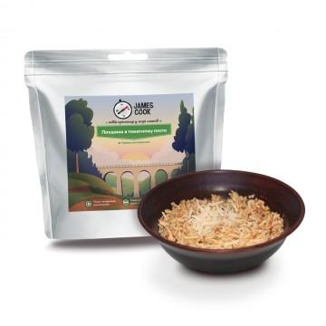 Сушені продукти James Cook Локшина в томатному песто