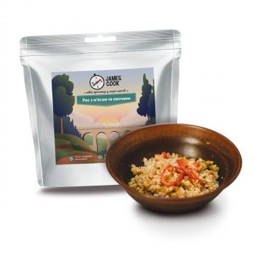 Сушені продукти James Cook Рис з м'ясом та овочами