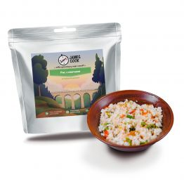 Сушені продукти James Cook Рис з овочами (вегетаріанський)