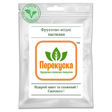 Сушеные продукты Харчи Фруктово-ягодные пастилы