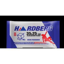 Вологі рушники Hardberg Антибактеріальні  сині