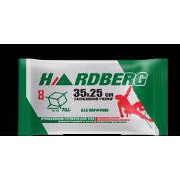Влажные полотенца Hardberg Без запаха зеленые