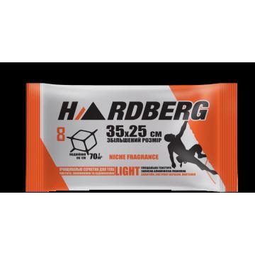 Влажные полотенца Hardberg Light оранжевые