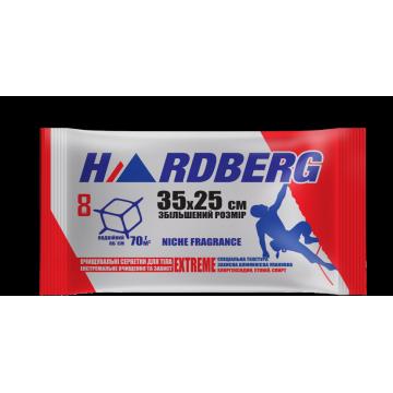 Влажные полотенца Hardberg Extreme красные