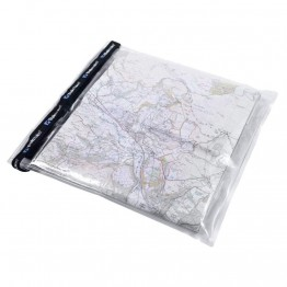 Гермопакет Trekmates Map Case прозорий