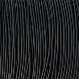 Паракордовий шнур-резинка Highlander Shock cord Black чорний 2 мм