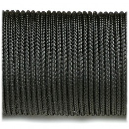 Паракордовий шнур Highlander minicord Black черный 2,2 мм
