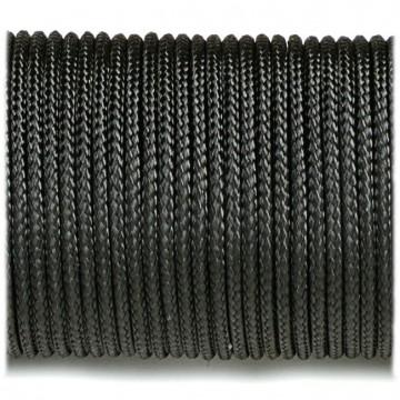 Паракордовий шнур Highlander minicord Black чорний 2,2 мм