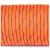 Паракордовий шнур Highlander Paracord reflective 4 мм orange yellow оранжевый