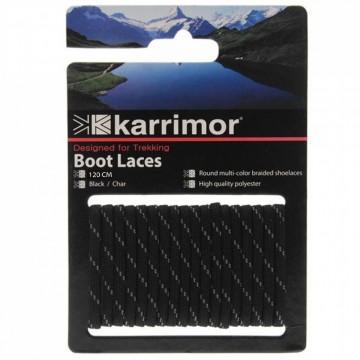 Шнурівки Karrimor Shoe Laces 120 чорні/графітові