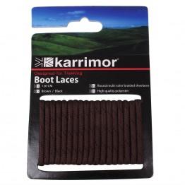 Шнурівки Karrimor Shoe Laces 120 коричневі/чорні