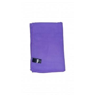 Полотенце микрофибра фиолетовый Tramp TRA-161