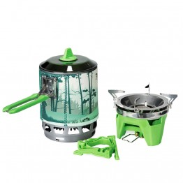 Система для приготування їжі Fire Maple FMC-X3  зелена