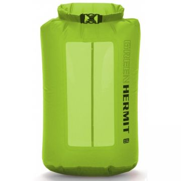 Гермомешок Green Hermit Visual Dry Sack 15л зеленый