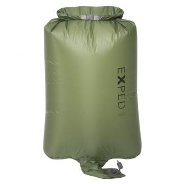 Гермомешок/помпа Exped Schnozzel Pumpbag UL M зеленый