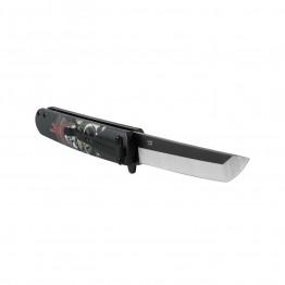 Нож складной Ganzo G626-BS черный самурай