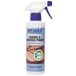 Водоотталкивающий спрей Nikwax Fabric & Leather Spray 300 мл