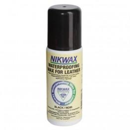 Водоотталкивающий средство Nikwax Waterproofing Wax for Leather black 125 мл