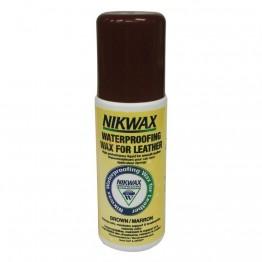 Водовідштовхуючий засіб Nikwax Waterproofing Wax for Leather brown 125 мл
