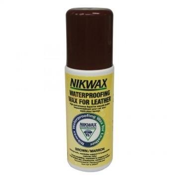 Водоотталкивающий средство Nikwax Waterproofing Wax for Leather brown 125 мл