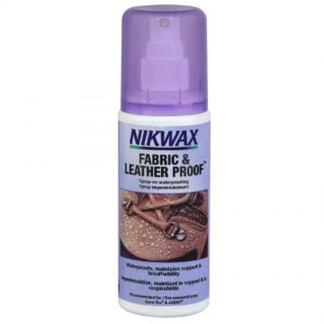 Водоотталкивающий спрей Nikwax Fabric & Leather Spray 125 мл