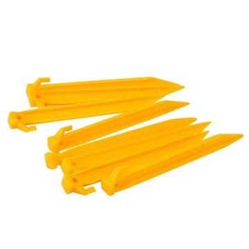 Кілки пластикові Gelert Plastic Pegs 8  жовті