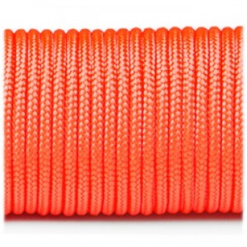 Паракордовий шнур Highlander minicord (2.2 мм) orange yellow оранжевый