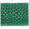 Паракордовий шнур Highlander minicord (2.2 мм) emerald green snake зелено-чорний