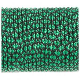 Паракордовий шнур minicord (2.2 мм) зелено-чорний