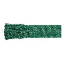 Паракордовий шнур Highlander minicord (2.2 мм) emerald green snake зелено-черный
