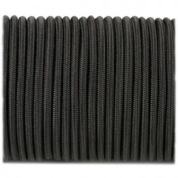 Паракордовий шнур-резинка Highlander Shock cord чорний 3 мм